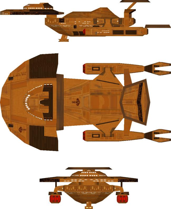 Cardassian Aladara Class IX Destroyer