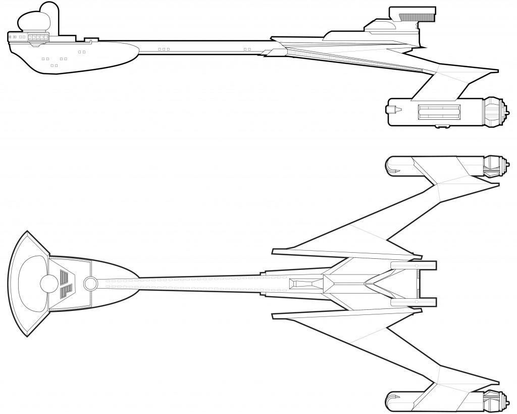 Klingon L-3 Frigate