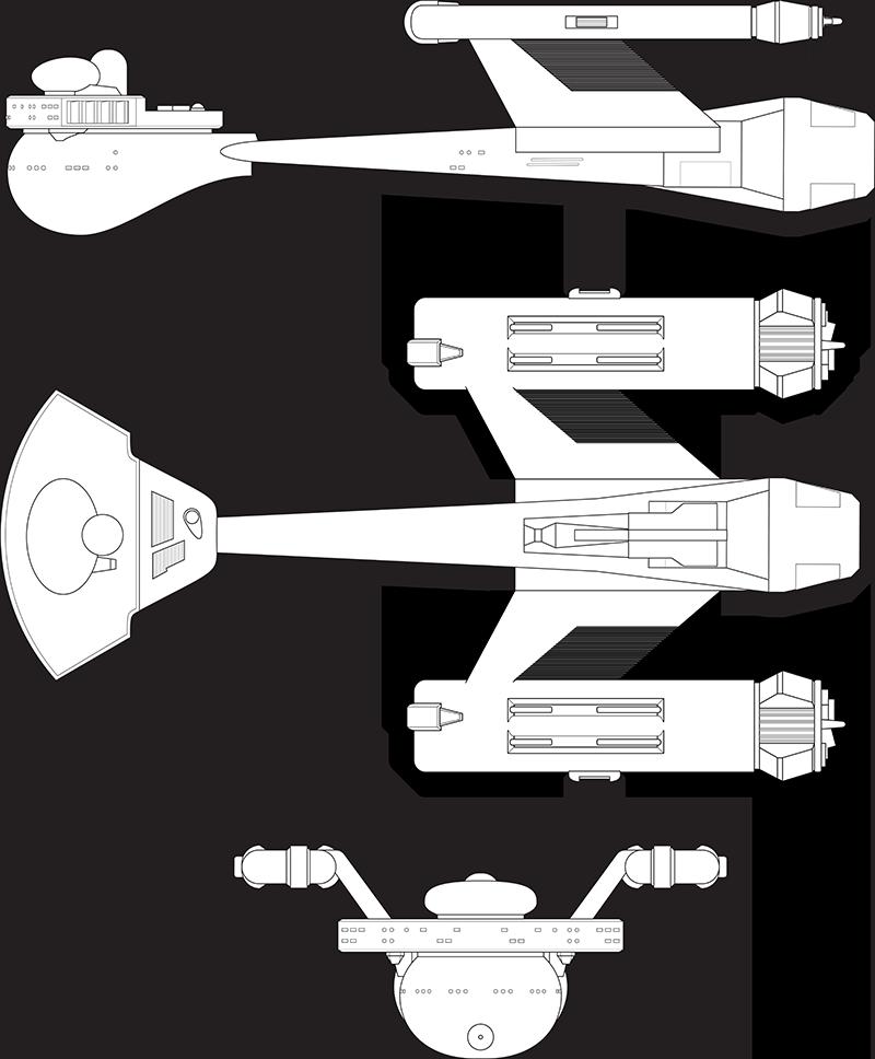 Klingon-D-67 Destroyer