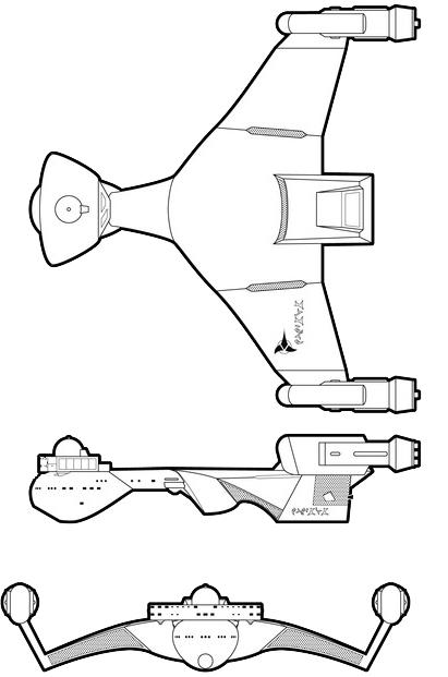 Klingon D-3 (HoH'SuS) Class VII Light Cruiser