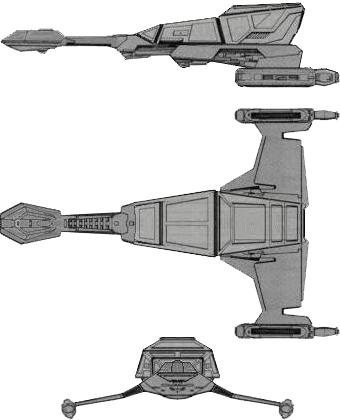 Klingon L-33 (Lancer) Class VII Frigate