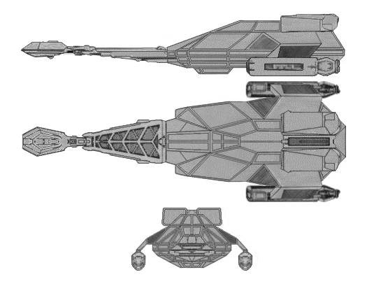 Klingon L-26 (Blockader) Class IX Battleship