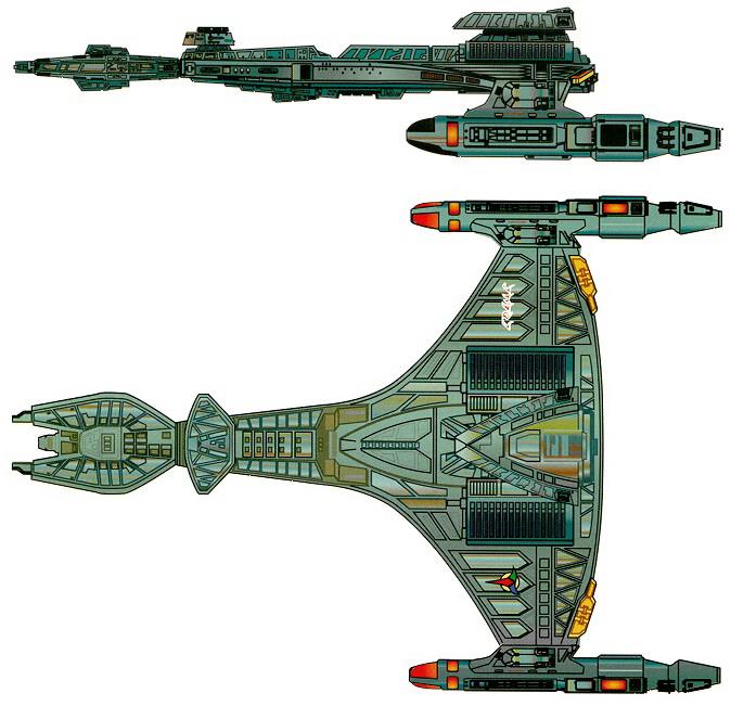 Klingon-D-90vorcha-top-side