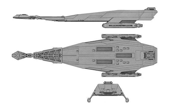 Klingon D-40