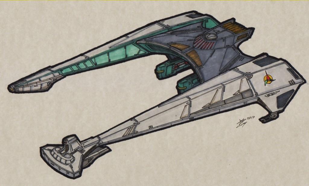 Klingon D-36 Klingon_TOS_Attackcruiser_00