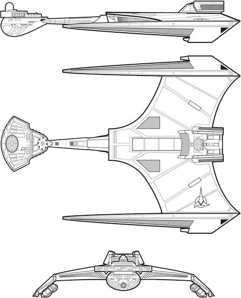 Klingon D-8