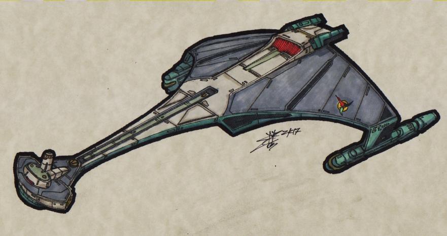Klingon - D-77 XL_Battlecruiser_00