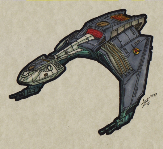 Klingon - K8 Dark Wing TOS_Bird-of-_Prey_00